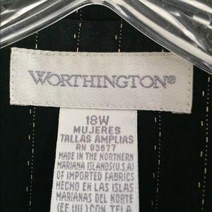 Worthington Skirts - Women's Black and White Skirt Suit